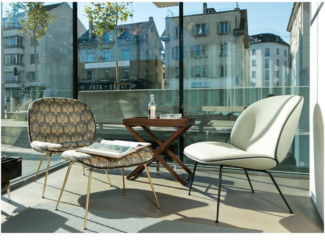 Reseda M 246 Bel St 252 Hle Beetle Lounge Chair