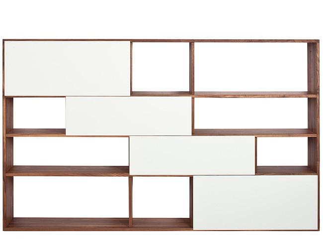 reseda m bel regale tre due mit schiebet ren. Black Bedroom Furniture Sets. Home Design Ideas